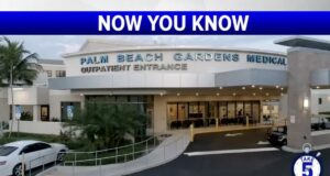 WPTV Take 5 at PBG Medical Center with Dr. Hampton/Navio Picture